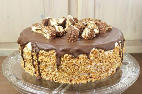 Kinder Maxi King Torte backen – Leckere Torten Rezepte