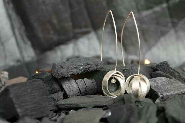 aretes ORBITA by Heidi Peirano Jewelry