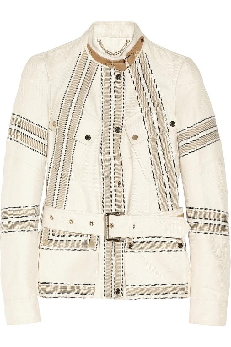 Belstaff Speedmaster linen and cotton-blend twill jacket  NET-A-PORTER.COM