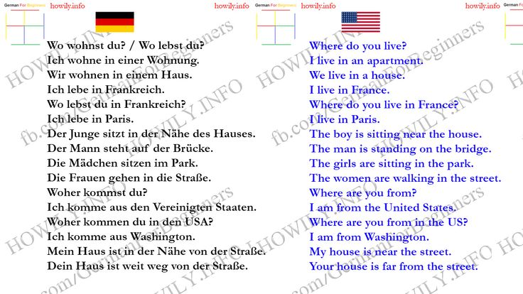 Our duty is to make German easier to learn, through pictures, videos and grammar…