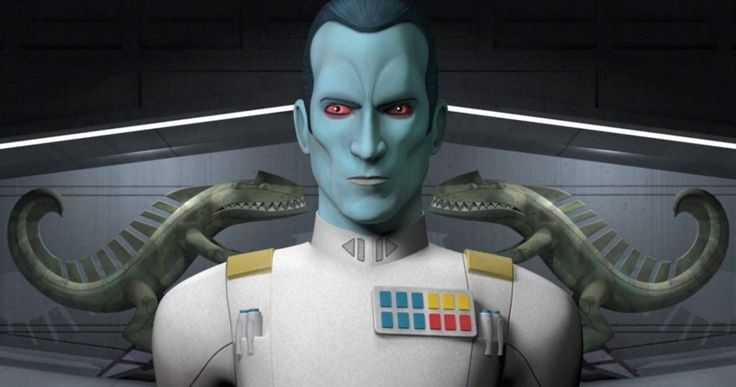 Thrawn Strikes Back in New Star Wars Rebels Season 3 Trailer -- Get a new look at the villainous Thrawn in a trailer for Star Wars Rebels Season 3, along with character descriptions. -- http://tvweb.com/star-wars-rebels-season-3-trailer-thrawn/