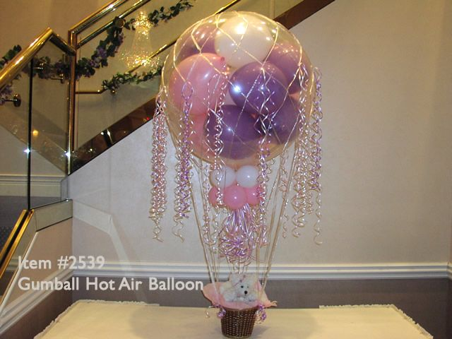 17 best images about hot air balloon on pinterest in the for Air filled balloon decoration ideas
