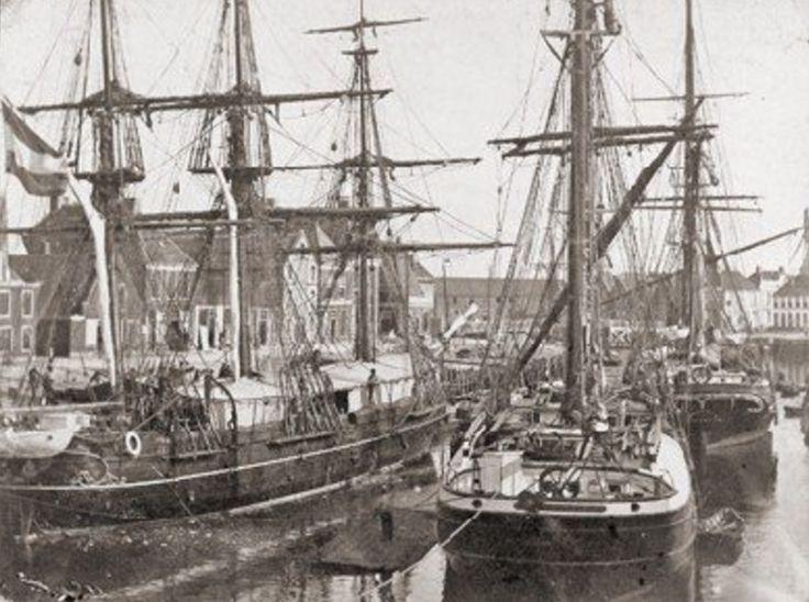 Harlingen - Korvet Zr. Ms. Urania - 1888