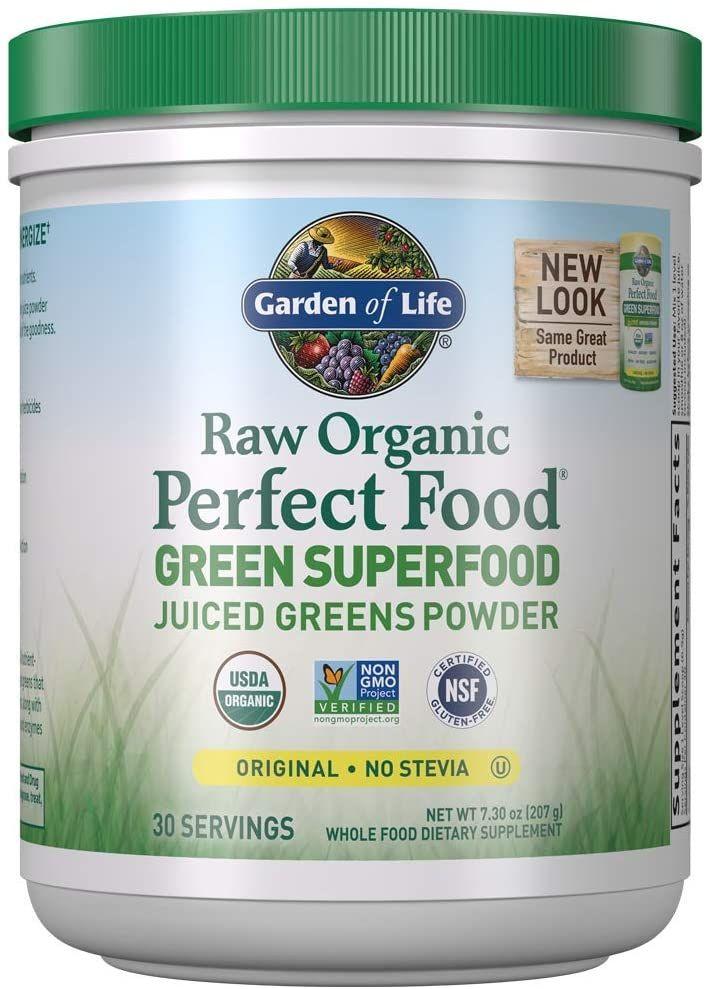 Garden Of Life Raw Organic Perfect Food Green Superfood Juiced Greens Powder In 2020 Green Superfood Raw Organic Superfood Supplements