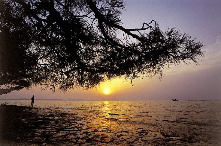 Schönste Sonnuntergang in Kroatien von www.kroadria.de