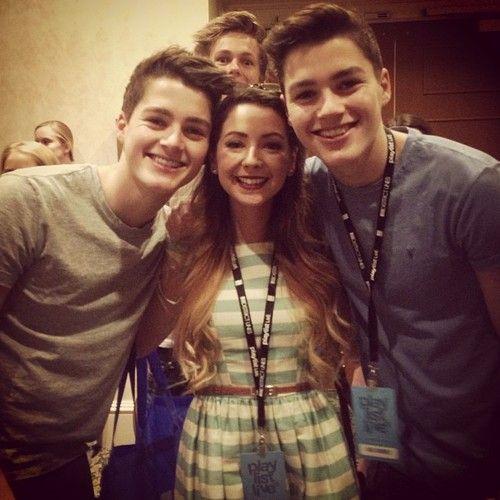 Jack & Finn, Zoella, Caspar Lee!