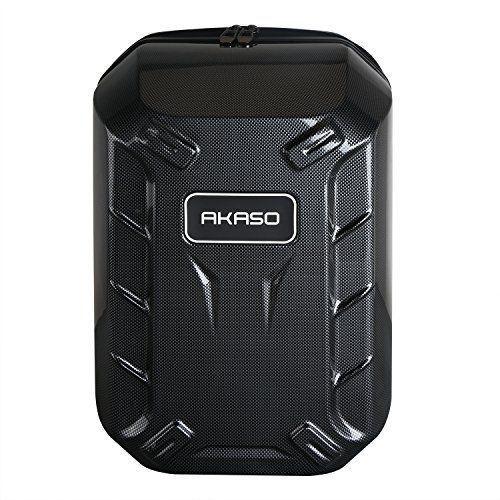 AKASO Hard shell Protective Backpack Carrying Case for DJI Phantom 3 Standard, Phantom 3 Advanced, Phantom 3 Professional 4K Drone and Accessories - Titanium - http://dronescenter.net/akaso-hard-shell-protective-backpack-carrying-case-dji-phantom-3-standard-phantom-3-advanced-phantom-3-professional-4k-drone-accessories-titanium/ #backpackcase