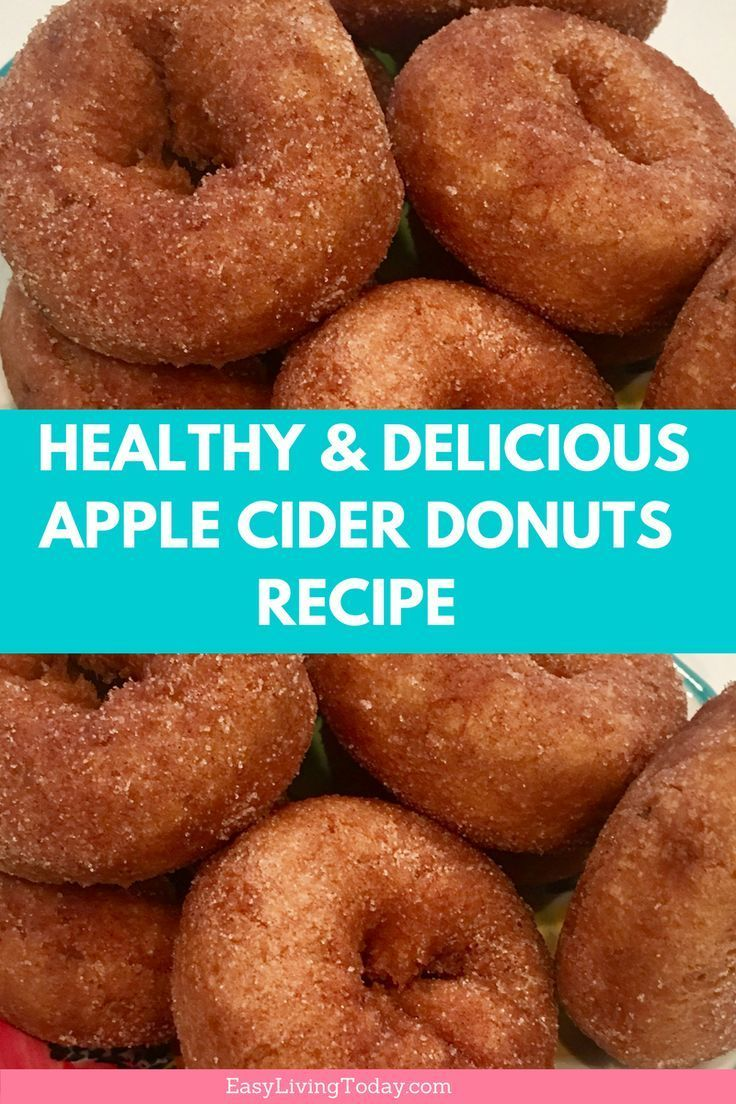 Delicious And Easy Apple Cider Donuts For Clean Eating Apple Cider Donuts Recipe Clean Eating Desserts Cider Donuts Recipe