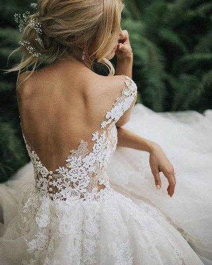 Flattering Wedding Dresses That Complete Your Bridal Look – open back wedding dr…