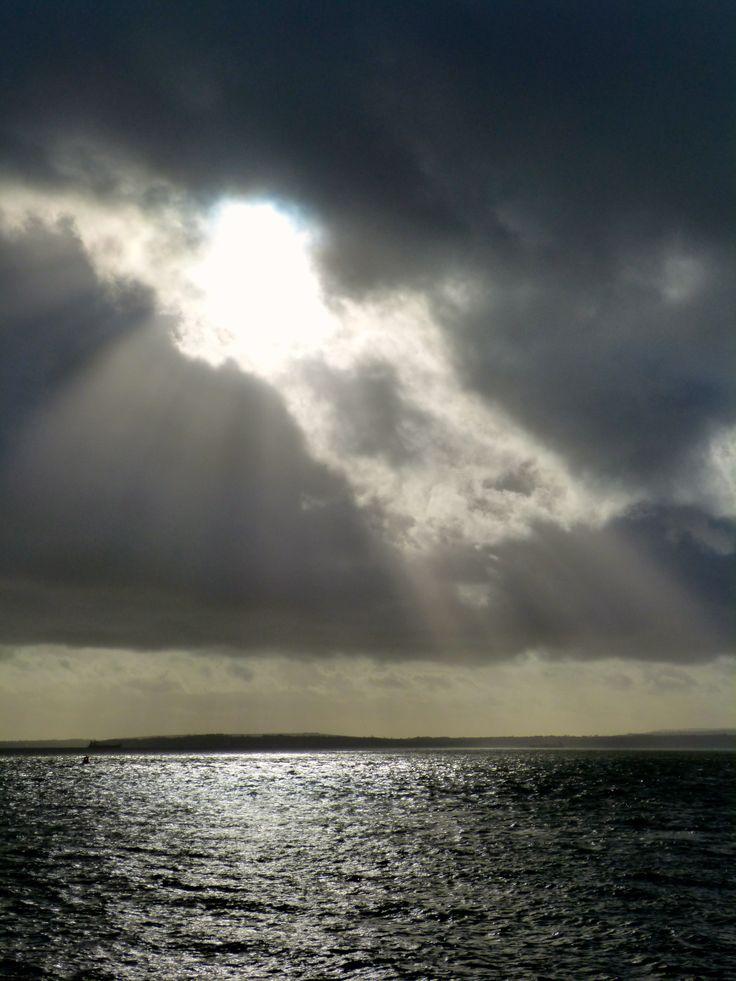 Stormy sunshine
