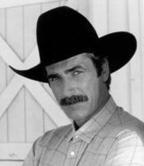 Sam Elliott as the former Texas Ranger Brandon Tabor, hero of Novella 2 Romantic Refinements.: