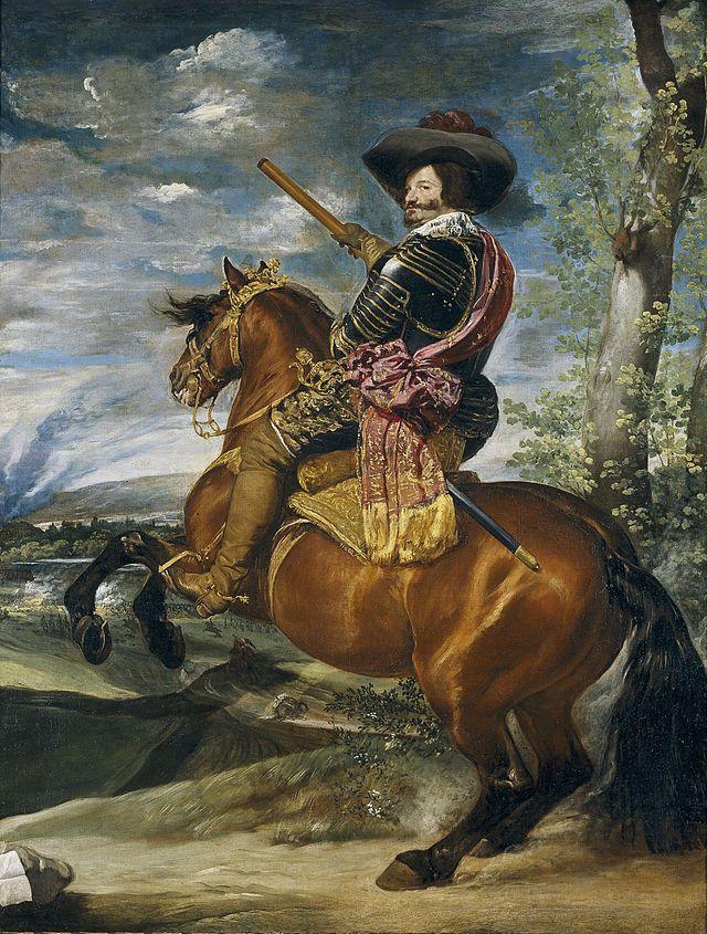 Count-Duke of Olivares - Conde-duque de Olivares - Velázquez
