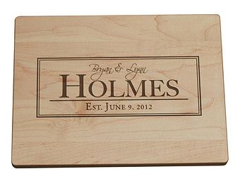 Personalized/ Engraved Cutting Board w/ by PegasusParchments