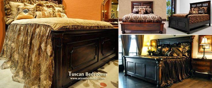Tuscan Bedroom Decor