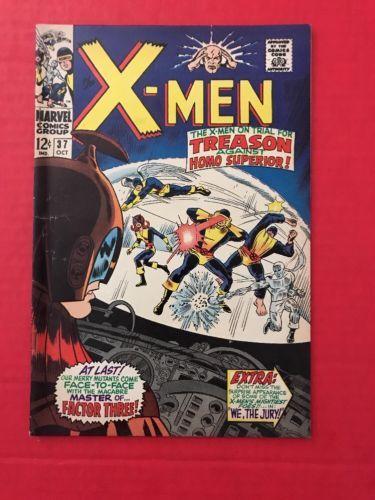 X-Men #37 1st App Mutant Master Marvel Comics VG/FN: $19.99 (0 Bids) End Date: Sunday Mar-18-2018 17:21:53 PDT Bid now | Add to watch list