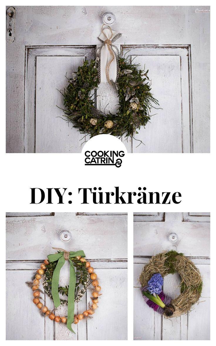 diy, deko, diy tipps, diy ideen, diy ideas, türkränze, wreath, spring wreath, frühlingskranz, blumen, flowers, basteln, home, decor, dekoration, deko, decoration, spring decor, frühlings deko, frühlings dekoration doityourself...http://www.cookingcatrin.at/tuerkraenze/