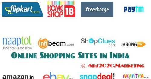 Ads2020-  45 Indian Best Online Shopping Websites List. Top eCommerce Sites India for 2016- 2017 #advertising