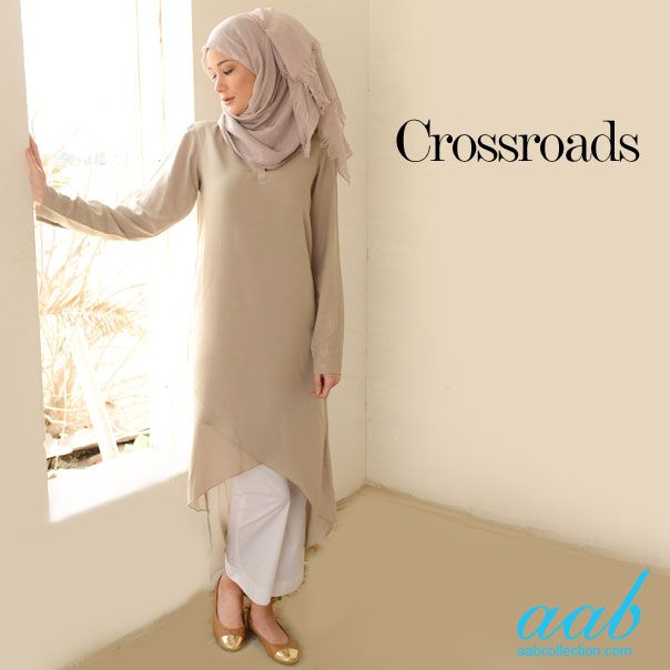 Pale tones are the key to this seasons trends. Pair this assymetric wrap style kurti with some white trousers or jeans and sail through Spring feeling light and airy and ready for Summer! SHOP NOW : http://www.aabcollection.com/shop/product/crossroads-kurti/599