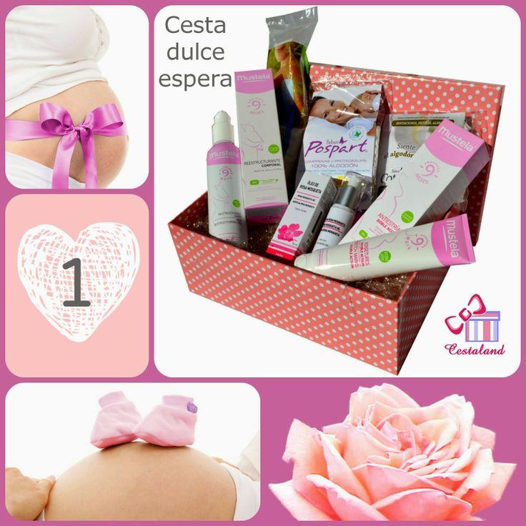 ¿Qué regalar a una mamá embarazada? #regalo embarazada #regalo mamá #regalo premamá www.cestaland.com