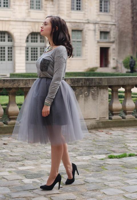 Cupcake Doll - Twist & Tango top, KTR Collection skirt, Asos heels, H necklace, Hipanema bracelet