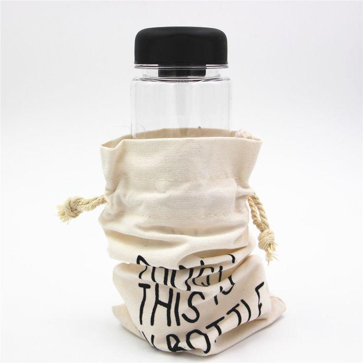 MY Water Bottles Portable Plastic Bottle Creative Juice Tea Coffee Space Cup Drinkware Sport Water bottle For gifts