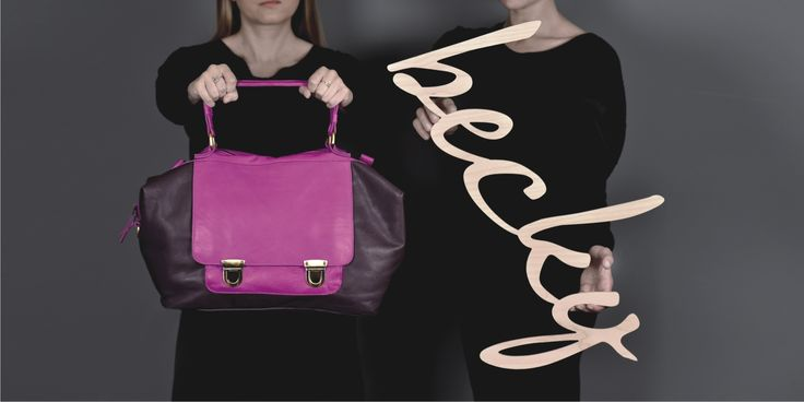 Becky ---> #Twocoloured #bag. Available in #onecolour too: black or brown