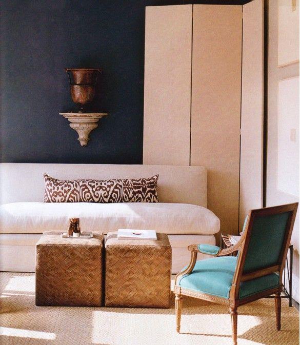 9 Chic Ways to Dress Up Your Boring Neutral Sofa via @domainehome / lumbar pillow