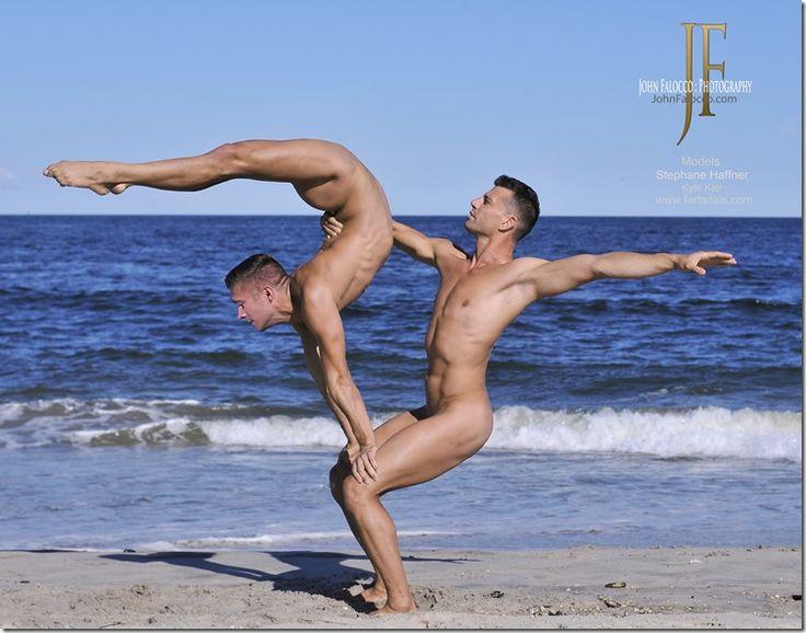 Nude female yoga poses-2536