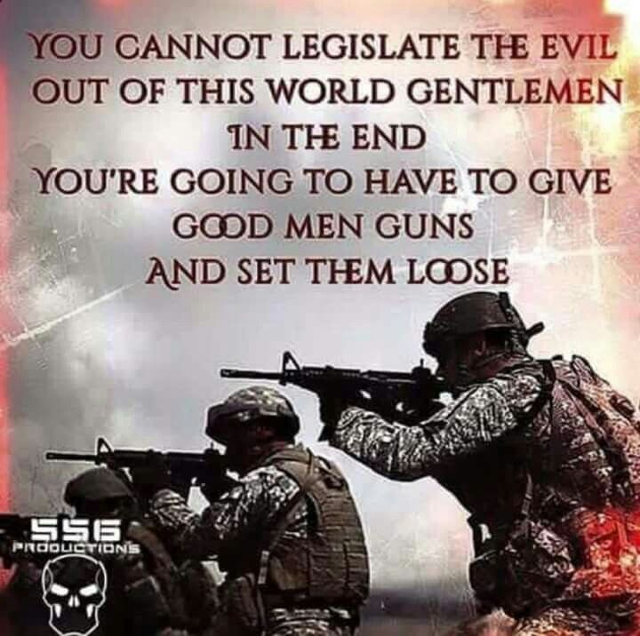 Now more than ever. The only way to beat a bad guy with a gun, is a good guy with a gun.