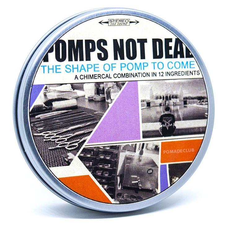 Pomps Not Dead Water Based Pomade 4oz