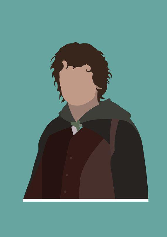 Frodo Beutlin von PotterPosters auf Etsy