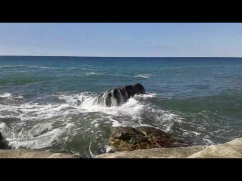 Caspian Sea on which you can watch forever on Mangistau - YouTube