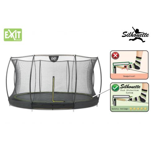 EXIT Silhouette Ground trampolin