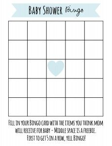 Baby Shower Games: Printable Baby Shower Games