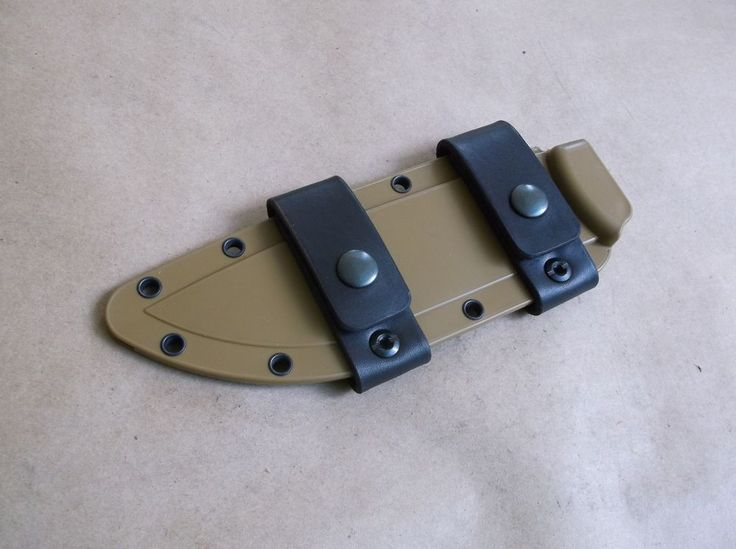 Esee 5 Esee 6 Leather Scout Carry Straps Kbknives
