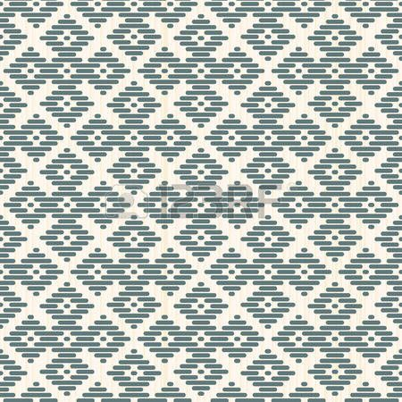 flat stitch: Seamless background. Japanese Kogin embroidery. Abstract pattern. Traditional ornament Hana-tsunagi. Geometric illustration. Simple asian ornament for stitching.