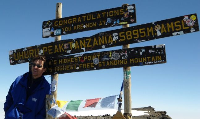 Andrew McCarthy on Kilimanjaro | Interview: Andrew McCarthy on Travel Writing, Fear & the Journey of the Soul www.greenglobaltravel.com
