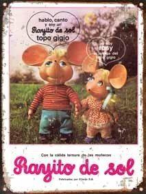 Chapa Vintage Publicidad Antigua Muñecas Rayito De Sol M662 - $ 336,00