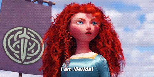 I got: Merida! Which Modern Disney Princess Are You?
