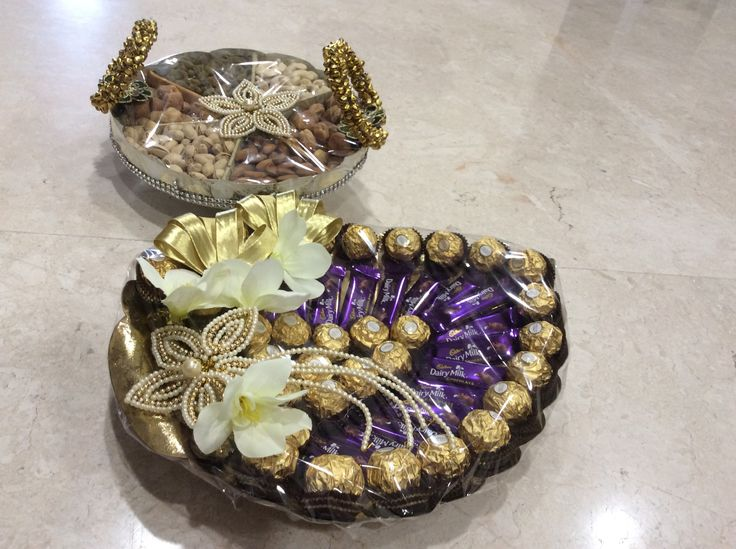 Vrishti Creations-Chocolates and Dry fruits packing 9669207565 , 9826116090