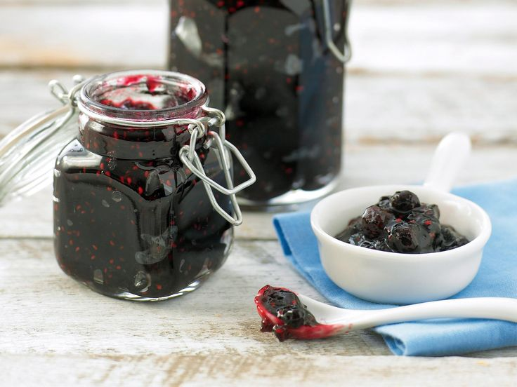 Microwave berry jam, berry recipe, brought to you by recipes+
