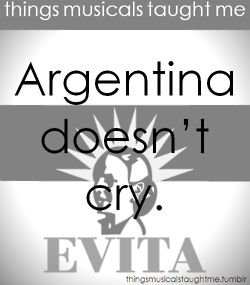 Argentina Doesn't Cry.