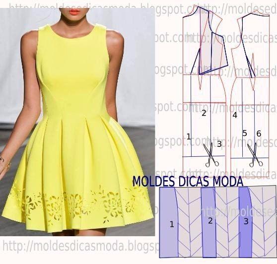 Vestidos. patrones