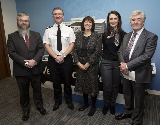Greater Manchester Police has marked Holocaust Memorial Day today by bringing faith leaders from across the region together to pay tribute to those who lost their lives. Chief Constable Ian Hopkins and Police and Crime Commissioner Tony Lloyd are joined by Tania Nelson from the Holocaust Memorial Day Trust, Elinor Chohan from Remembering Srebrenica and Rabbi Daniel Walker. www.gmp.police.uk