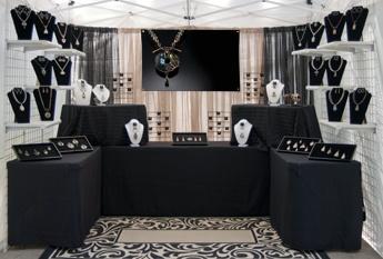 Booth Set-up by Cindi Hendrickson