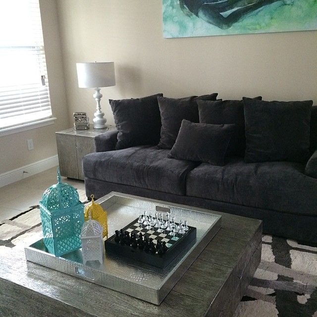 Z Gallerie Duplicity Coffee Table: @mjd8119 Created A Stunning Living Room With Our Timber