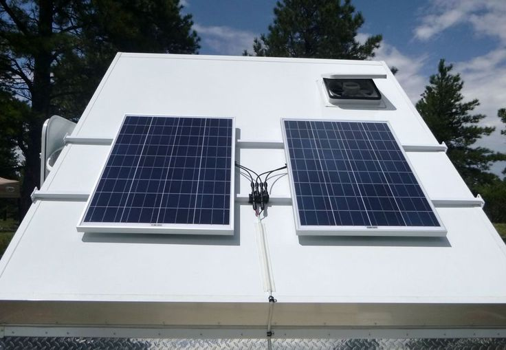 200 Watts Solar On My A Frame Forest River Forums