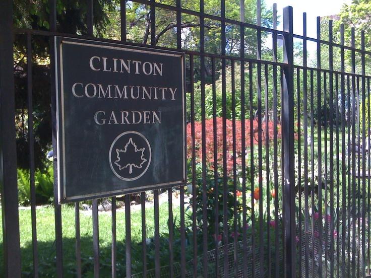 Clinton Community Garden