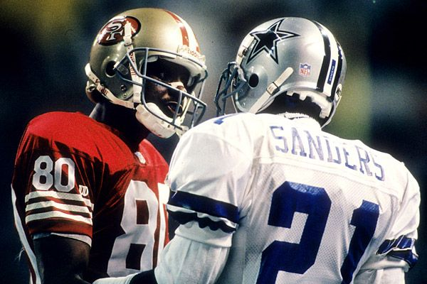 Jerry Rice vs Deion Sanders #PrimeTime