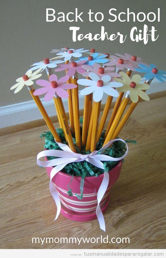 regalos hechos a mano para la maestra - Buscar con Google